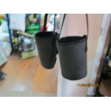 Bloomer Leg Wraps. Leather Neoprene lined