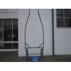 Steel work cart 32mm box section quick hitch no wheels