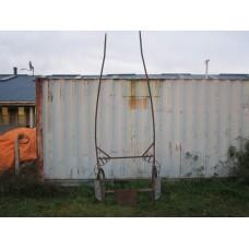 Steel work cart