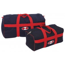 Gear Bag Black canvas With Red Trim.