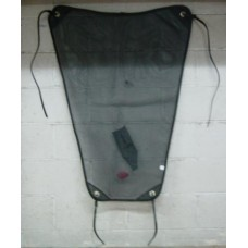 Dust Sheet Mesh Large with Straps.Black only