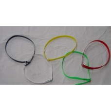 "Neck Band, Charisma 1"" Wide Assorted Colours"